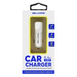 CAR CHARGER USB 2.4A PRODUK WELLCOMM ORIGINAL