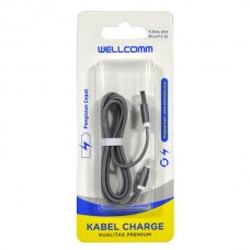 KABEL DATA FLAT 2IN1 MICRO/IPHONE 5 (1 METER)