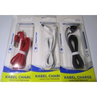 KABEL DATA FLAT IPHONE 5 1.2 METER