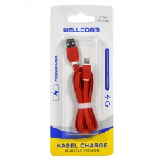 KABEL DATA FLAT IPHONE 5 (1.2METER)