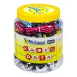 KABEL DATA CHARGE MICRO TOPLES (50PCS) ORIGINAL WELLCOMM
