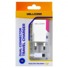 TRAVEL CHARGER USB FLAT 1A