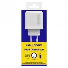 TRAVEL CHARGER MURAH USB FAST CHARGE 3.0 AMPERE