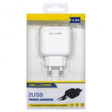 TRAVEL CHARGER USB 4.8 AMPERE