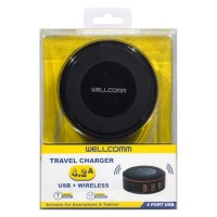 TRAVEL CHARGER 4.2A + WIRELESS