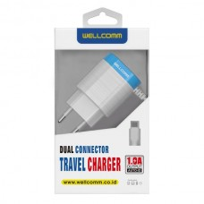 TRAVEL CHARGER USB 1A ELEGANT