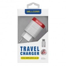 TRAVEL CHARGER USB 2.1A ELEGANT
